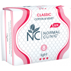 Прокладки 3 капли Classic Cotton&Soft Normal Clinic