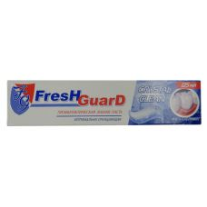 Зубная паста 125мл Fresh Guard Crystal Clean